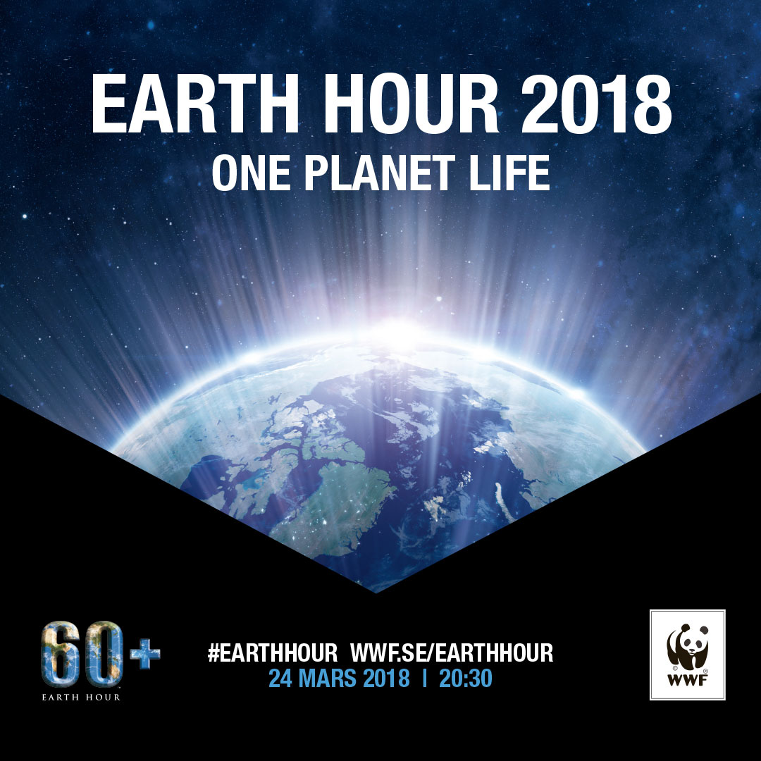 Gustavianum deltar i Earth Hour 2018